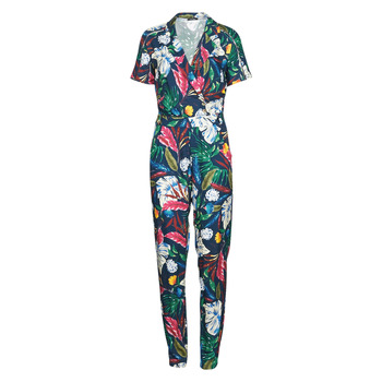 Textiel Dames Jumpsuites / Tuinbroeken One Step ROSLYN Multicolour