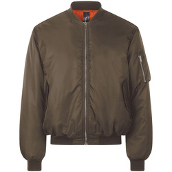 Textiel Wind jackets Sols REMINGTON BOMBER Marr?n