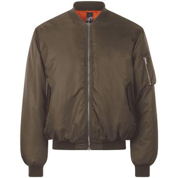 Textiel Wind jackets Sols REMINGTON BOMBER Marrón