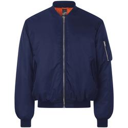 Textiel Wind jackets Sols REMINGTON BOMBER Azul