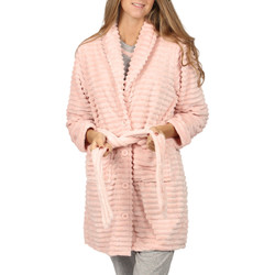 Textiel Dames Pyjama's / nachthemden Admas Kleedjurk Winter Paisley Lichtroze