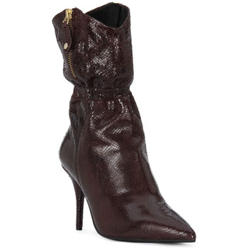Schoenen Dames Low boots Elvio Zanon COBRINO PRUGNA Rosso