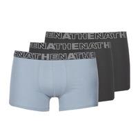 Ondergoed Heren Boxershorts Athena BASIC COLOR Zwart / Grijs / Zwart