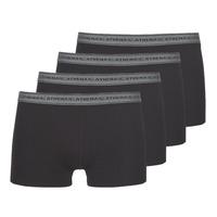 Ondergoed Heren Boxershorts Athena BASIC COTON Zwart