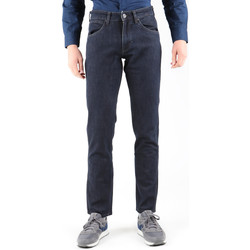 Textiel Heren Straight jeans Wrangler Greensborg W15QBR77S Navy blue