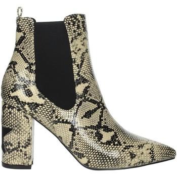 Schoenen Dames Enkellaarzen Shop Art 20575C Beige