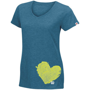 Wilson Summer Clay Heart Tech T
