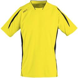 Textiel Heren T-shirts korte mouwen Sols MARACANA 2 SSL SPORT Amarillo