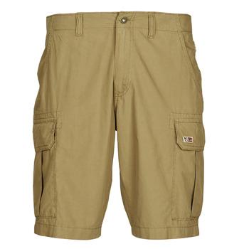Textiel Heren Korte broeken / Bermuda's Napapijri NOTO 4 Camel