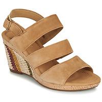 Schoenen Dames Sandalen / Open schoenen Gabor KARAMBA Bruin