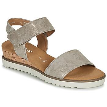 Schoenen Dames Sandalen / Open schoenen Gabor  Goud