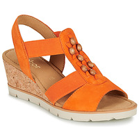 Schoenen Dames Sandalen / Open schoenen Gabor KALINA Oranje
