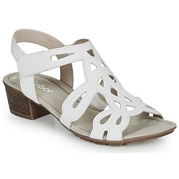Schoenen Dames Sandalen / Open schoenen Gabor KELELE Wit