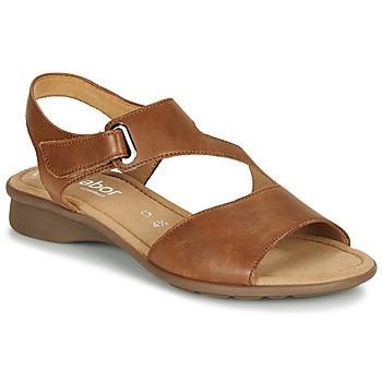 Schoenen Dames Sandalen / Open schoenen Gabor  Cognac