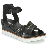 Schoenen Dames Sandalen / Open schoenen Dream in Green MARZI Zwart