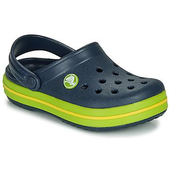 Schoenen Kinderen Klompen Crocs CROCBAND CLOG K Marine / Groen
