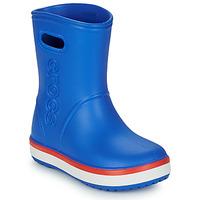 Schoenen Kinderen Regenlaarzen Crocs CROCBAND RAIN BOOT K Blauw / Rood