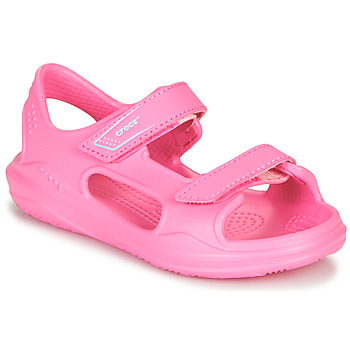 Schoenen Meisjes Outdoorsandalen Crocs SWIFTWATER EXPEDITION SANDAL K Roze