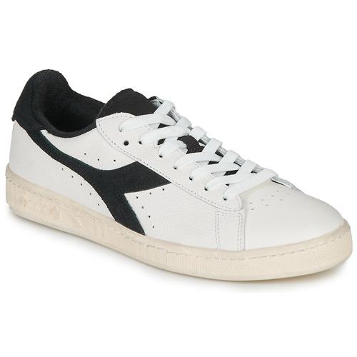 Schoenen Lage sneakers Diadora GAME L LOW USED Wit / Zwart
