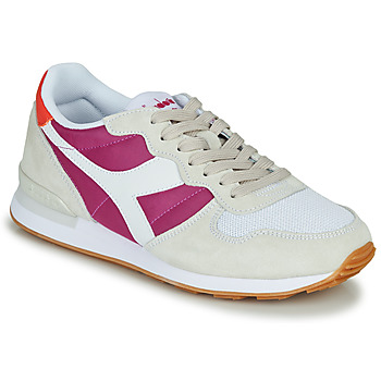 Schoenen Dames Lage sneakers Diadora CAMARO Beige / Roze