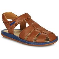 Schoenen Kinderen Sandalen / Open schoenen Camper BICHO Bruin / Marine