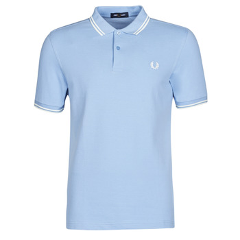 Textiel Heren Polo's korte mouwen Fred Perry TWIN TIPPED FRED PERRY SHIRT Blauw