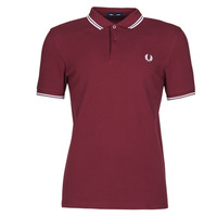 Textiel Heren Polo's korte mouwen Fred Perry TWIN TIPPED FRED PERRY SHIRT Bordeau