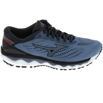 Schoenen Heren Running / trail Mizuno Wave Sky 3 Stone Bleu Blauw