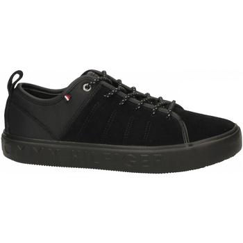 Schoenen Heren Sneakers Tommy Hilfiger CORPORATE BRANDED CU 990-black-nero