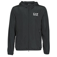 Textiel Heren Windjack Emporio Armani EA7 TRAIN CORE ID M JACKET Zwart