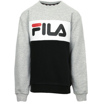 Textiel Kinderen Sweaters / Sweatshirts Fila Night Blocked Crew Kids Zwart