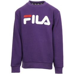Textiel Kinderen Sweaters / Sweatshirts Fila Classic Logo Crew Kids Violet