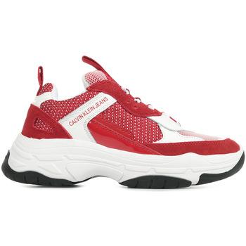 Schoenen Dames Lage sneakers Calvin Klein Jeans Maya Rood
