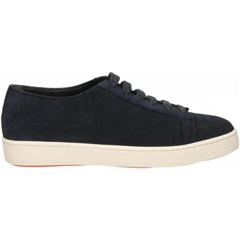 Schoenen Heren Sneakers Santoni TENNIS 6F+T.LIS+INF. DEDEU u55-blu