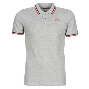 Textiel Heren Polo's korte mouwen Kappa ESMO Grijs / Zwart / Rood