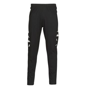 Textiel Heren Trainingsbroeken Kappa KOLRIK Zwart / Wit