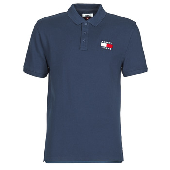 Textiel Heren Polo's korte mouwen Tommy Jeans TOMMY BADGE POLO Marine