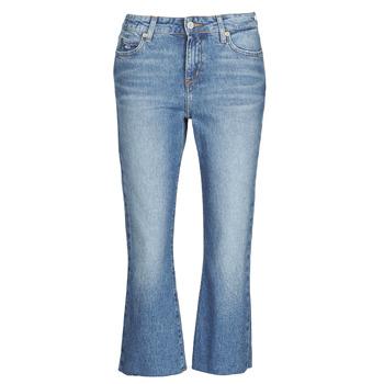 Textiel Dames Straight jeans Tommy Jeans KATIE CROP FLARE Blauw / Medium