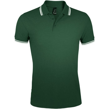 Textiel Heren Polo's korte mouwen Sols PASADENA MODERN MEN Verde