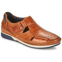 Schoenen Heren Sandalen / Open schoenen Fluchos JAMES Bruin / Marine / Rood