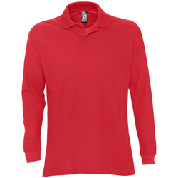 Textiel Heren Polo's lange mouwen Sols STAR MODERN MEN Rojo