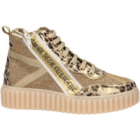 Schoenen Dames Sneakers Voile Blanche SPRY HIGH oro