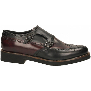Schoenen Heren Derby Edward's ERODE nero-bordeaux
