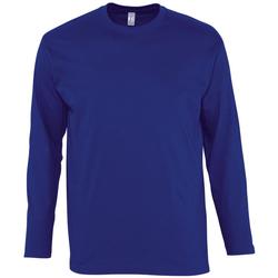 Textiel Heren T-shirts met lange mouwen Sols MONARCH COLORS MEN Azul
