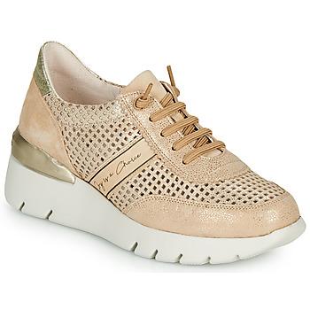 Schoenen Dames Lage sneakers Hispanitas RUTH Roze / Goud / Wit