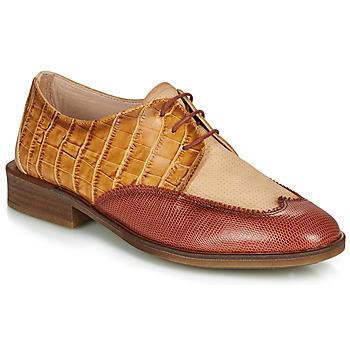 Schoenen Dames Derby Hispanitas LONDRES Bruin