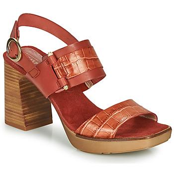 Schoenen Dames Sandalen / Open schoenen Hispanitas PETRA Bruin