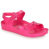 Schoenen Meisjes Sandalen / Open schoenen Birkenstock RIO EVA Roze