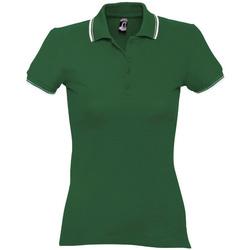 Textiel Dames Polo's korte mouwen Sols PRACTICE GOLF SPORT Verde