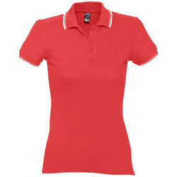 Textiel Dames Polo's korte mouwen Sols PRACTICE GOLF SPORT Rojo